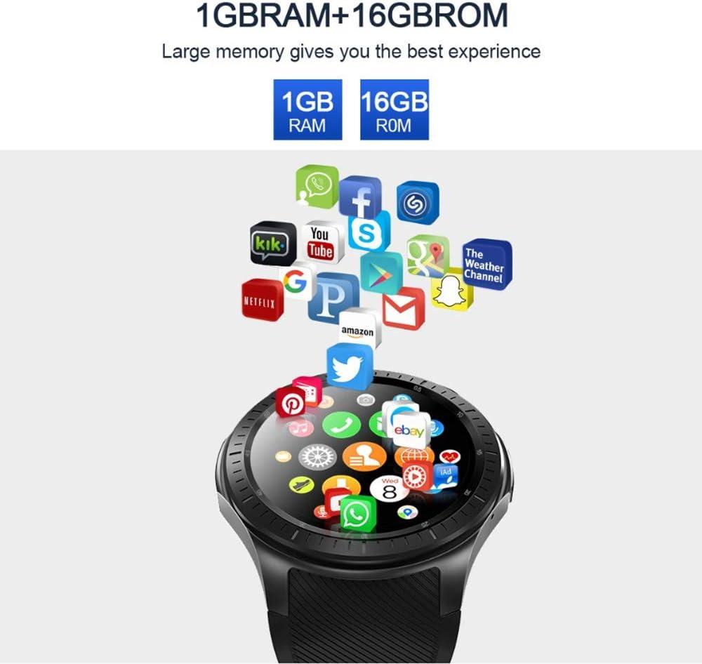 LQQZZZ Android 7.1 Reloj Inteligente, 4G WI-FI Reloj ...