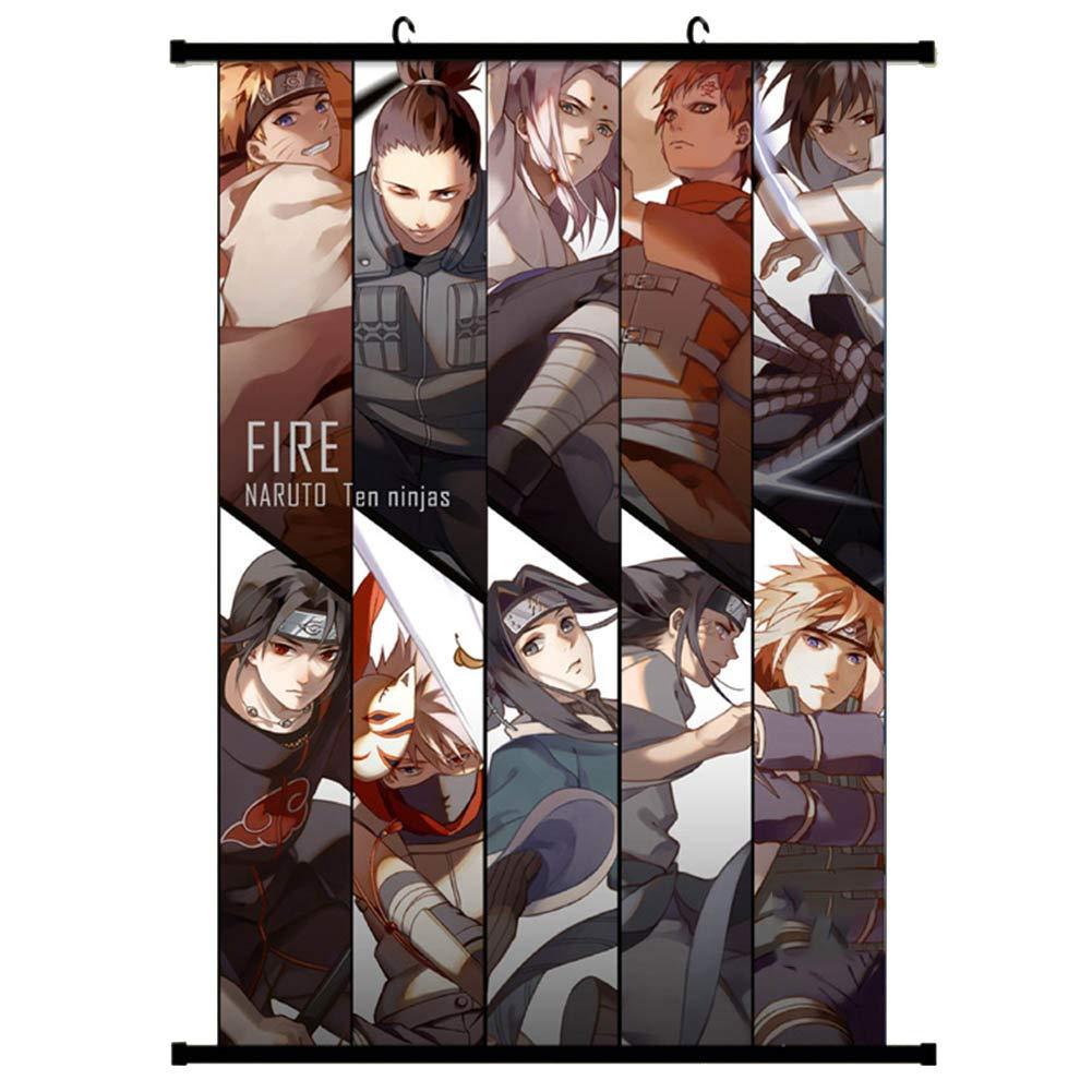 Amazon.com: WerNerk Naruto Anime - Póster de pared con ...