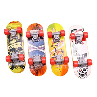 Quero Jom91 Mini Fingerboard Cute Finger Skate Board Boy Best Gift for Fans: Sports & Outdoors