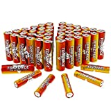 TDRFORCE AA Alkaline Batteries, Double A High Performance Battery Alkaline with 48 Count Pack