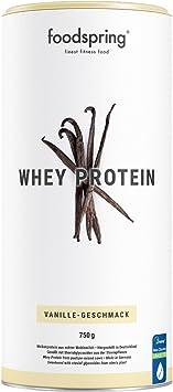 foodspring Proteína Whey, Sabor Vainilla, 750g, Fórmula en ...