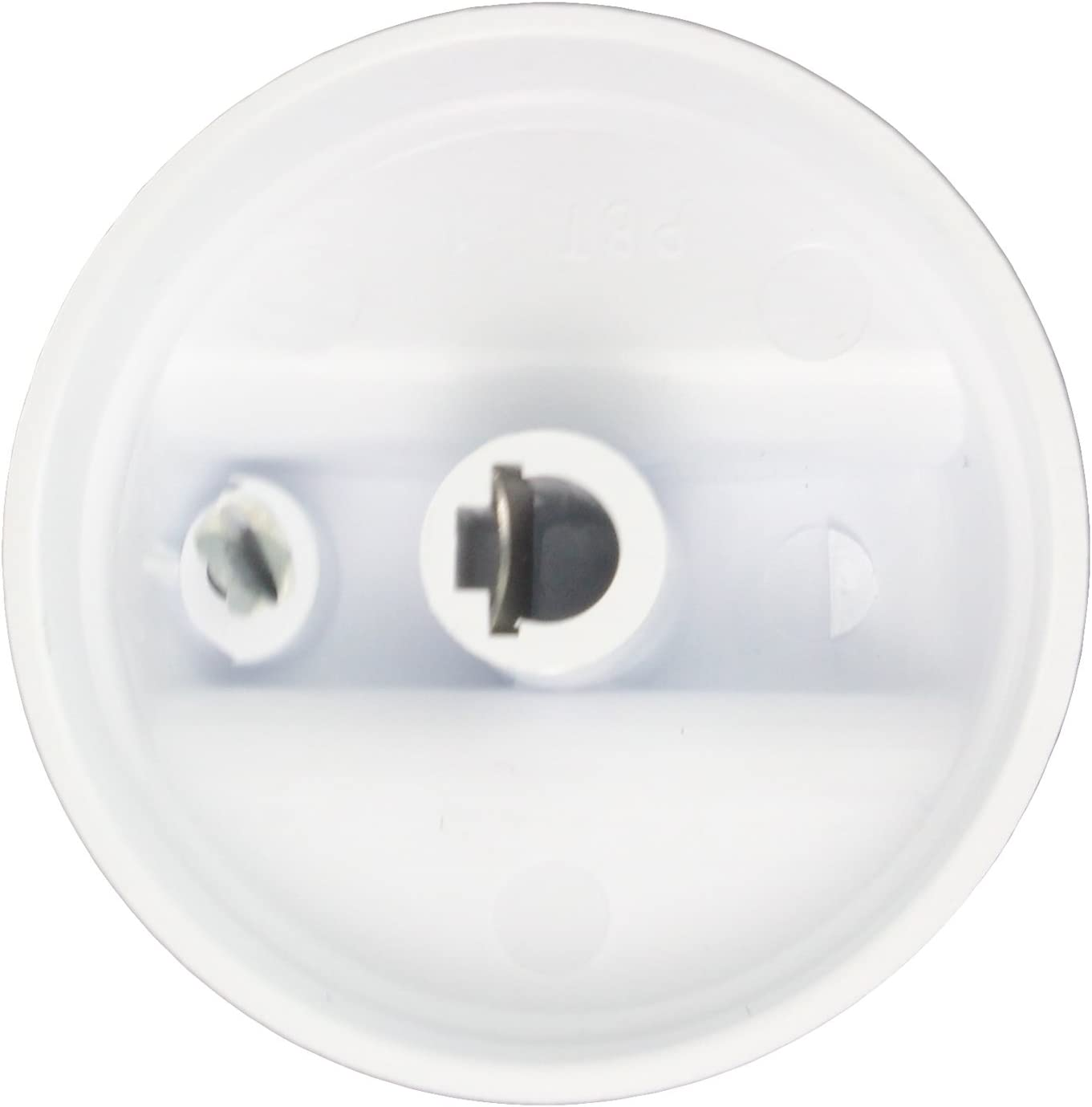 Pack of 3, White Genuine Amica Electric Hob Oven Cooker 51EE 60EE Control Knob Switch