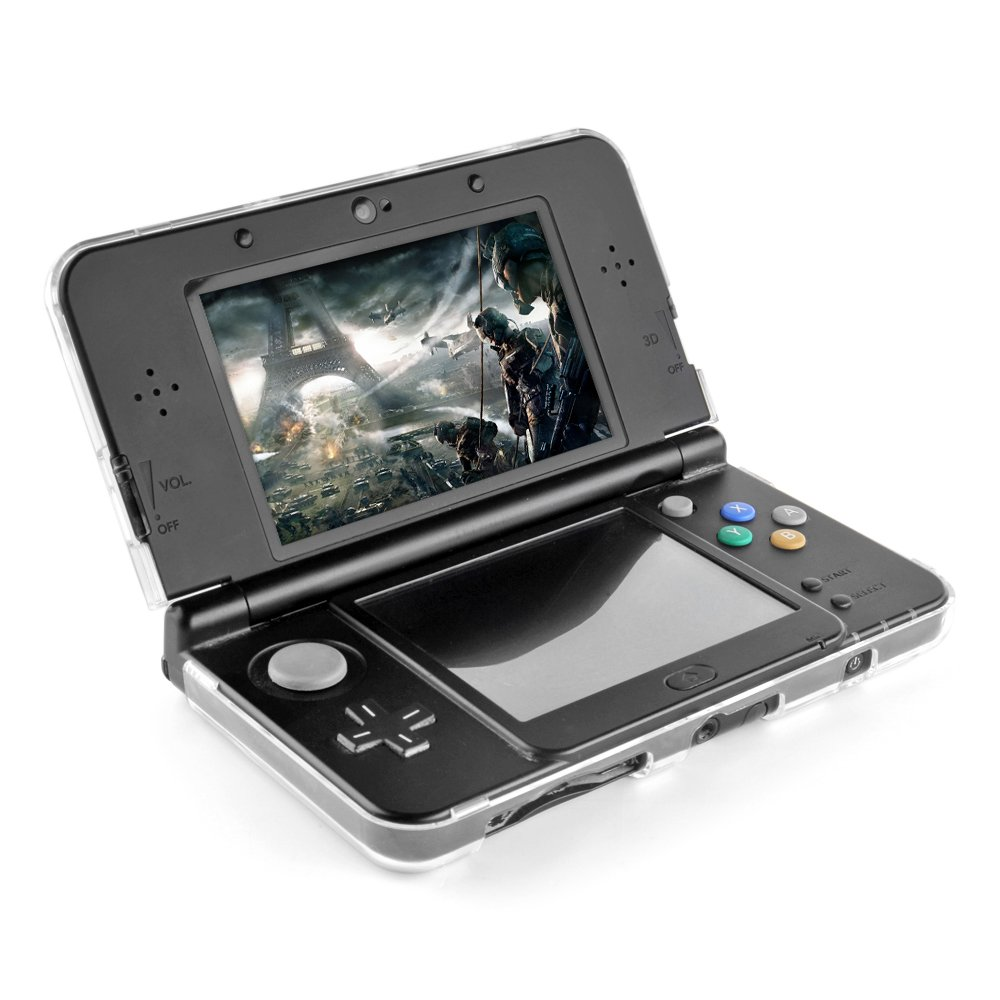 Amazon.com: TNP New 3DS XL Case - Ultra Clear Crystal ...
