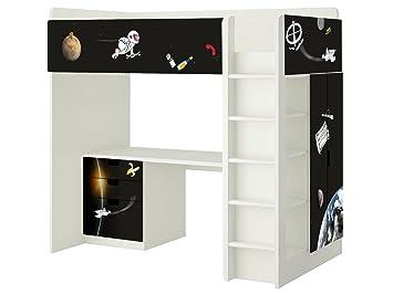 Ikea Kinderzimmer Etagenbett : Weltall aufkleber sh passend für die kinderzimmer hochbett