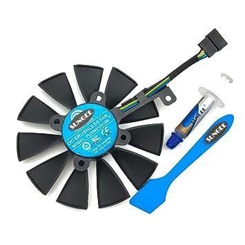 Amazon.com: 87 mm. pld09210s12 m pld09210s12hh Ventilador de ...