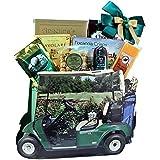 Gone Golfing! Golf Cart Gift Bag Tote Gourmet Snack Sampler