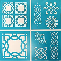 Martha Stewart Crafts 33556 Martha Stewart Ornamental Trellis Stencils