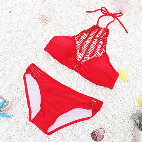 Rawdah 2017Bañadores Bikinis Bañador Bañador Bañador Swim Bañador Set Rojo