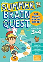 Stop summer slide! Stay summer smart! For kids who just finished 3rd grade, this Common Core–aligned workbook will get you back-to-school ready for 4th grade, with hundreds of fun activities, exercises, and games. From Brain Quest, Ame...