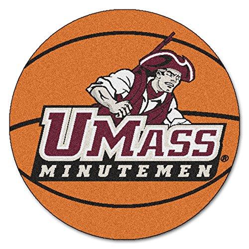 - NCAA University of Massachusetts Minutemen Basketball Shaped Mat Area Rug