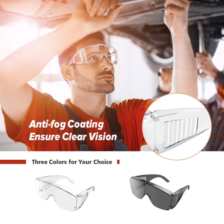 gafas de seguridad Disparo de anteojos de seguridad para usar con anteojos recetados ajuste sobre anteojos