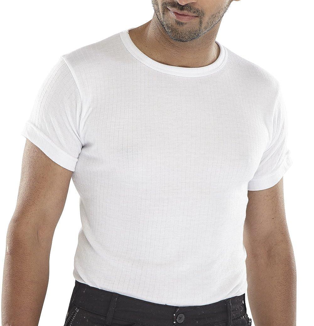 Click Workwear Short Sleeve Thermal Vest Beeswift Ltd THVSS