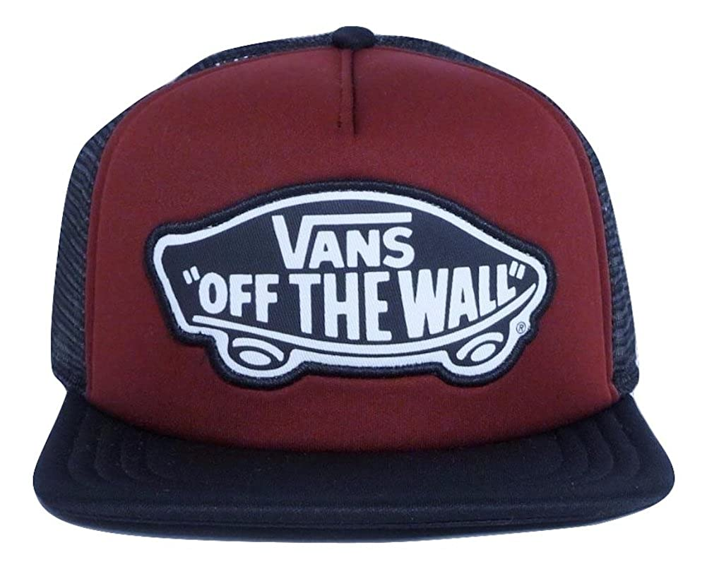 Vans Women Beach Burgundy Girl Classic Patch Trucker Hat at Amazon Women s  Clothing store  55af3cf4ce8