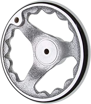 Grizzly H5201 Safety Aluminum//Chrome ring Handwheel 834;