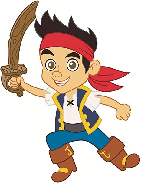 Jake And The Neverland Pirates Wall Decor from images-na.ssl-images-amazon.com