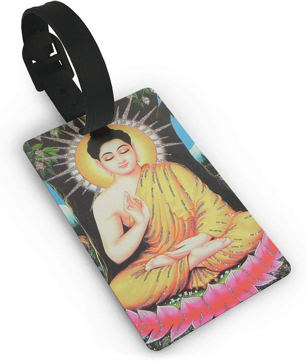 Buddhism Baggage Tag For Travel Tags Accessories 2 Pack Luggage Tags