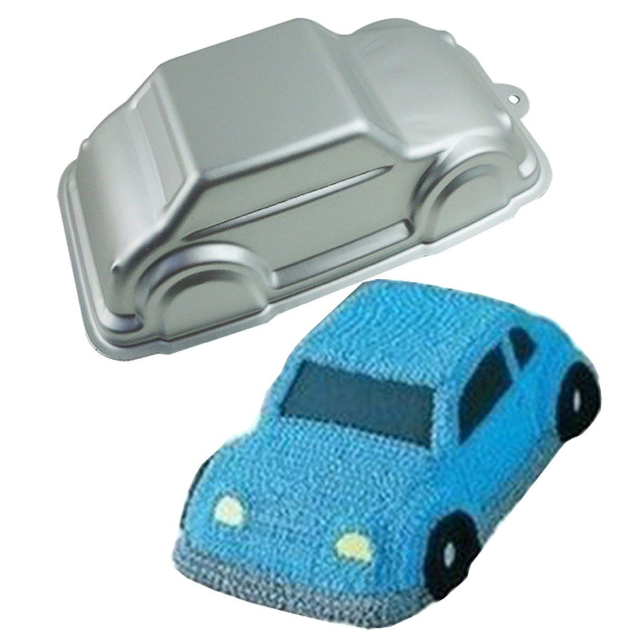 Aluminium 3D Car Cake Tin Pan Mould by Silicone Bakeware