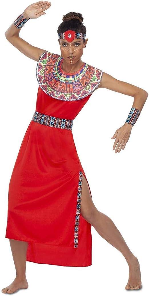My Other Me Disfraz de Masai para Mujer: Amazon.es: Juguetes y juegos