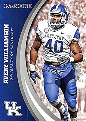 Avery Williamson football card (Kentucky Wildcats) 2016 Panini Team Collection #11