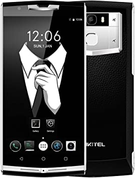 """Móvile y Smartphone Libre,OUKITEL K10000 Pro Teléfono Móvile Libre 4G Huella Digital Barato 10000mAh 5,5"""" Android 7.0 OctaCore 5.0MP+13.0MP Cámara 3GB RAM+32GB ROM Dual Sim -Negro: Amazon.es: Electrónica"""