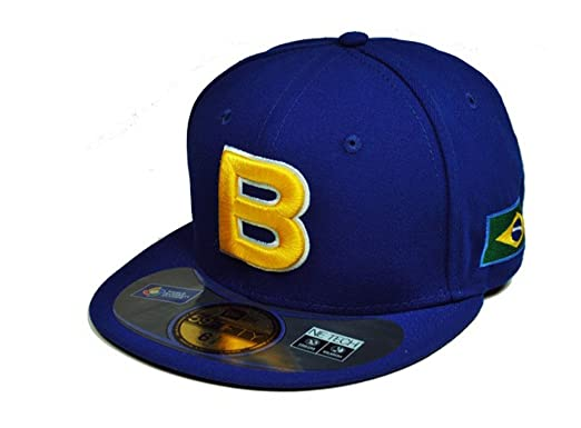 c6d34ed8017fc0 New Era 59Fifty Hat Brazil World Baseball Classic (WBC) 2013 Royal Blue  Fitted Cap
