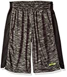 Spalding Big Boys' Space Dye Pre-Game Basketball Performance Short, Black, 14/16