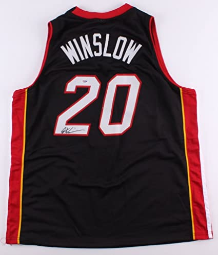 pretty nice 35086 9fce5 Justise Winslow Signed Miami Heat Jersey (PSA) at Amazon's ...