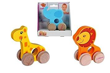 Baby Spielzeug Eichhorn Nachziehtier Schildkröte Babyspielzeug Holzspielzeug Holz Schiebetier