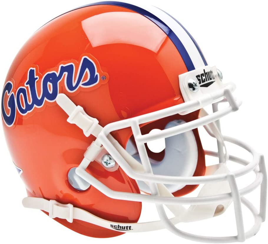 Schutt NCAA Florida Gators Mini Authentic XP Football Helmet
