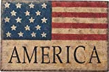 Transpac Burlap Americana Wall Sign Review