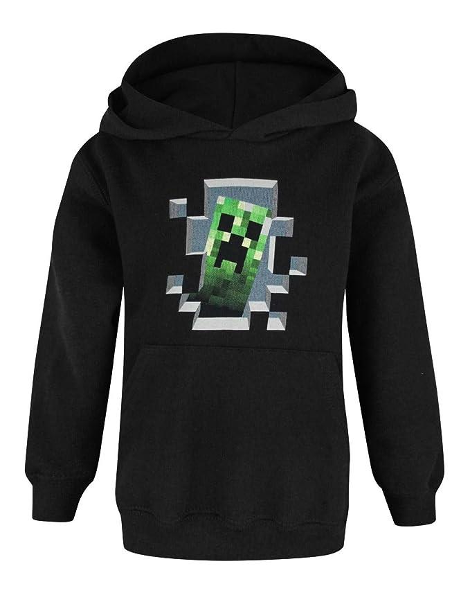 Minecraft - Sudadera oficial Minecraft modelo Creeper para niños: Amazon.es: Ropa y accesorios