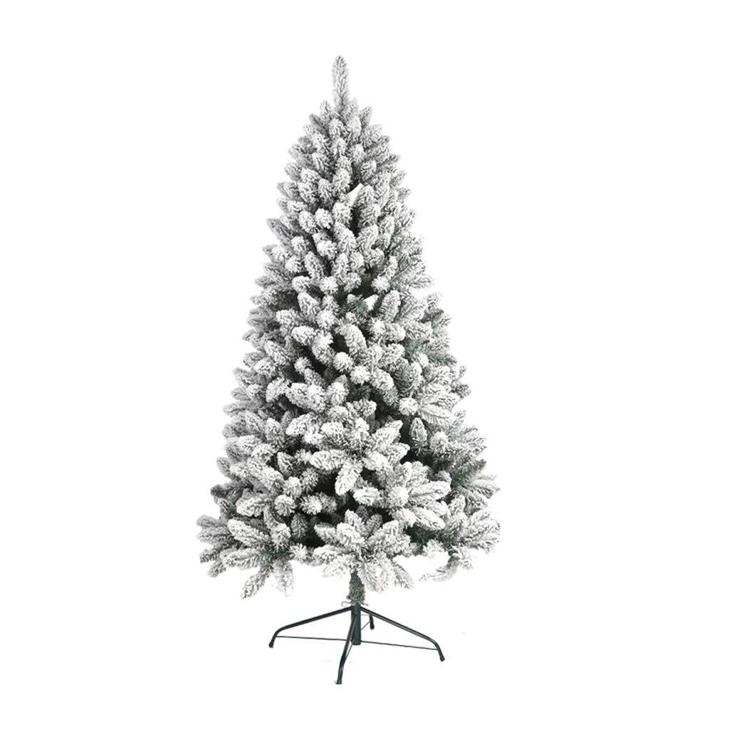 XF Christmas tree-90cm,120cm,150cm,180cm,210cm Christmas Decorations Cedar Ornaments White // (Size : 210cm(Height))
