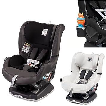 Peg Perego Primo Viaggio Infant Convertible Car Seat W Clima Cover White Cup Holder