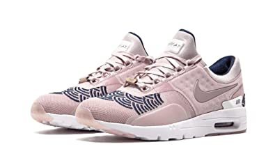 adcf5e23d5 Nike Womens W Air Max Zero LOTC QS Champagne Pink/Midnight Navy Fabric Size  6.5