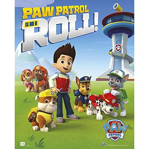 Grupo Erik editores Paw Patrol Roll–Mini Poster, 40x - Flip Charts Mini