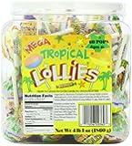 Smarties Lollies, Mega Tropical, 60 Count