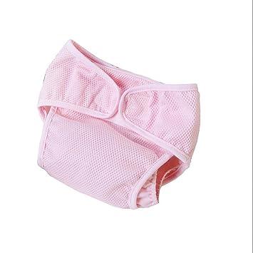 GUO De bolsas de malla pañales de algodón bebé pañales pañales de bolsillo del pantalón transpirable