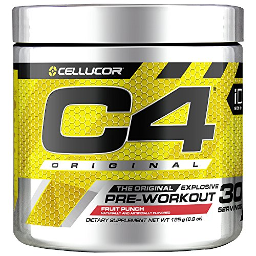 Cellucor C4 30 Pre Workout Powder w/ Creatine Nitric Oxide B