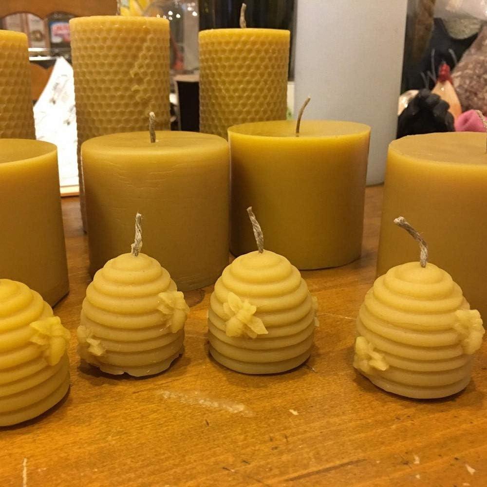 Amazon.com: Fewo - Juego de 2 moldes de silicona para velas ...