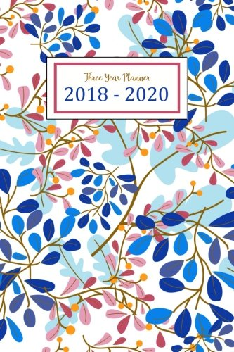2018 - 2020 Three Year Monthly Calendar Planner Three year planner for 2018 - 2020 including January 2018 - December 2020 (36 Months Calendar). You can see 7 days Start with Monday to Sunday in the couple pages and also see the whole month too. Book ...