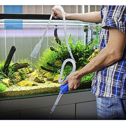 Wankd Aquarium Accessories - Aspirador con ventosas para Acuario, 1,7 m de Largo: Amazon.es: Productos para mascotas