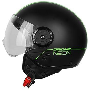 Origine Helmets 201585024500104 Neon Street casco Demi Jet, verde, ...
