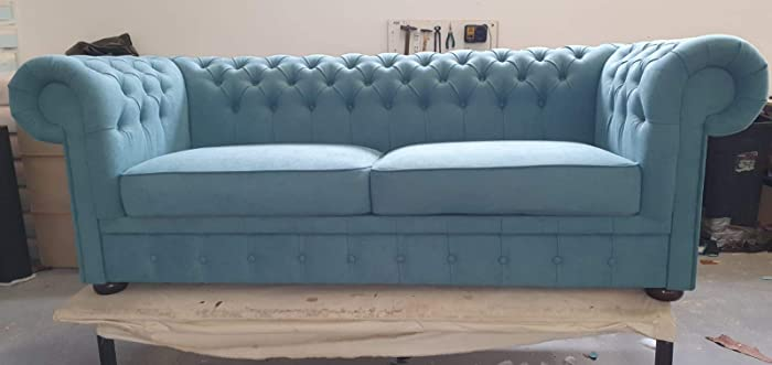 English Made Chesterfield Sofa/Sofá Chesterfield hecho a ...