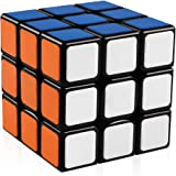D-FantiX Speed Cube 3x3, Gan Speed Cube 3x3x3 Magic Cube Puzzle Toy Black