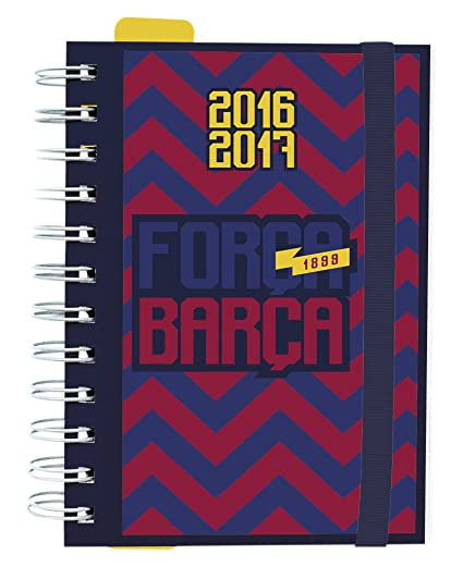 Grupo Erik Editores Fc Barcelona - Agenda escolar dp 2016/2017, 11.4 x 16.5 cm