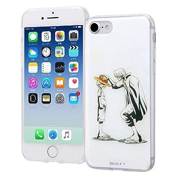 1eea85cf627704 Amazon   iPhone 8/7 ワンピース/TPUケース+背面パネル/シャンクス ...