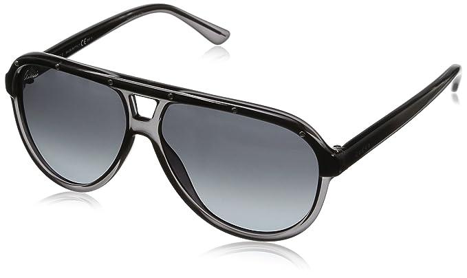 6b958d6265 Amazon.com: Gucci unisex 3720/S Aviator Sunglasses: Clothing