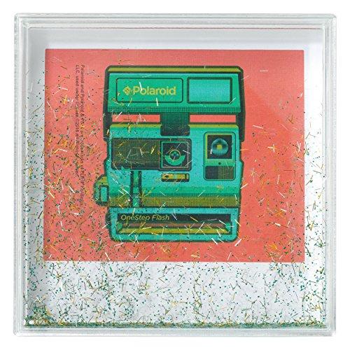 Polaroid Photo Glitter Frame, 4x4, Gold/Green/Silver ()