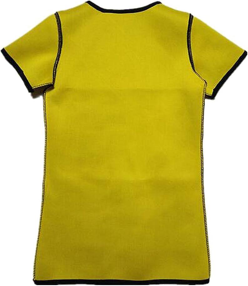 NOVECASA Magliette Sauna Uomo Neoprene T Shirt Compressione Sportiva per Sudorazione Grasso Bruciante Ginnastica Dimagrante Yoga Fitness