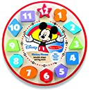 Melissa & Doug Disney Mickey Mouse Wooden Shape Sorting Clock